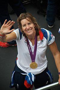 The Scottish Olympian Katherine Grainger
