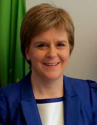 Nicola Sturgeon the Scottish 1st Minister